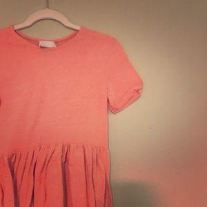 ASOS maternity dress pink skater dress